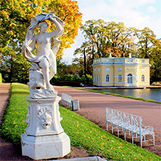 The Upper Bathhouse, Catherine Park | Catherine Palace Tour | tours | Tours In Saintpetersburg