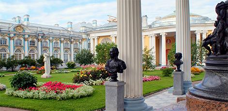Hanging Garden | Catherine Palace Tour | tours | Tours In Saintpetersburg