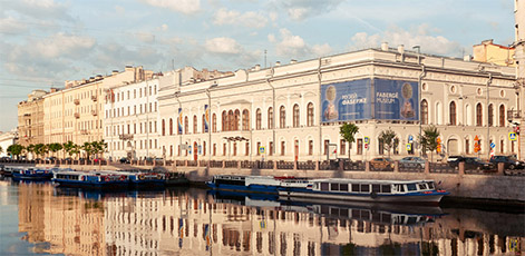View from Fontanka River | Faberge Museum Tour | tours | Tours In Saintpetersburg
