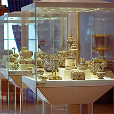 White and Blue Room | Faberge Museum Tour | tours | Tours In Saintpetersburg