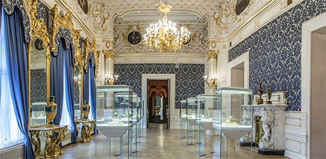 Blue Room | Faberge Museum Tour | tours | Tours In Saintpetersburg