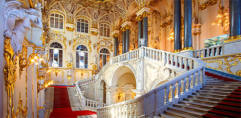 Jordan Staircase of the Winter Palace | Hermitage Museum Tour | tours | Tours In Saintpetersburg