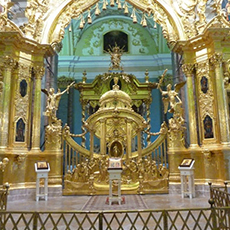 Peter and Paul Cathedral Interior | Peter and Paul Fortress Tour | tours | Tours In Saintpetersburg