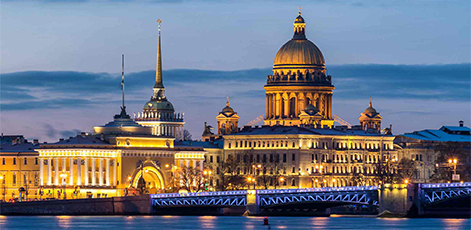 View on the Admiralty building and Isaac Cathedral | Saint Petersburg City Tour | tours | Tours In Saintpetersburg