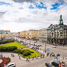 View on Singer House on Nevsky Prospect | Saint Petersburg City Tour | tours | Tours In Saintpetersburg